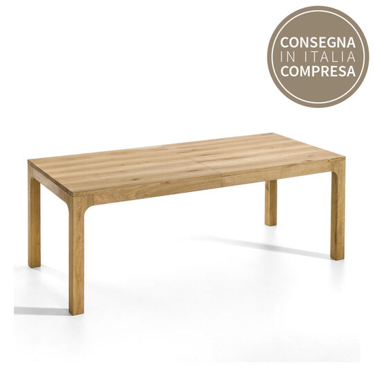 Cargo Oak Extendable Table