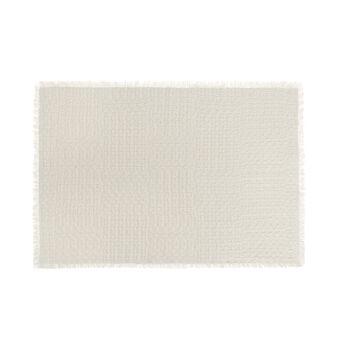 Tappeto bagno puro cotone lavorazione intreccio