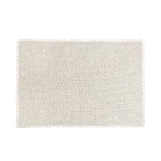 100% cotton braided bath mat