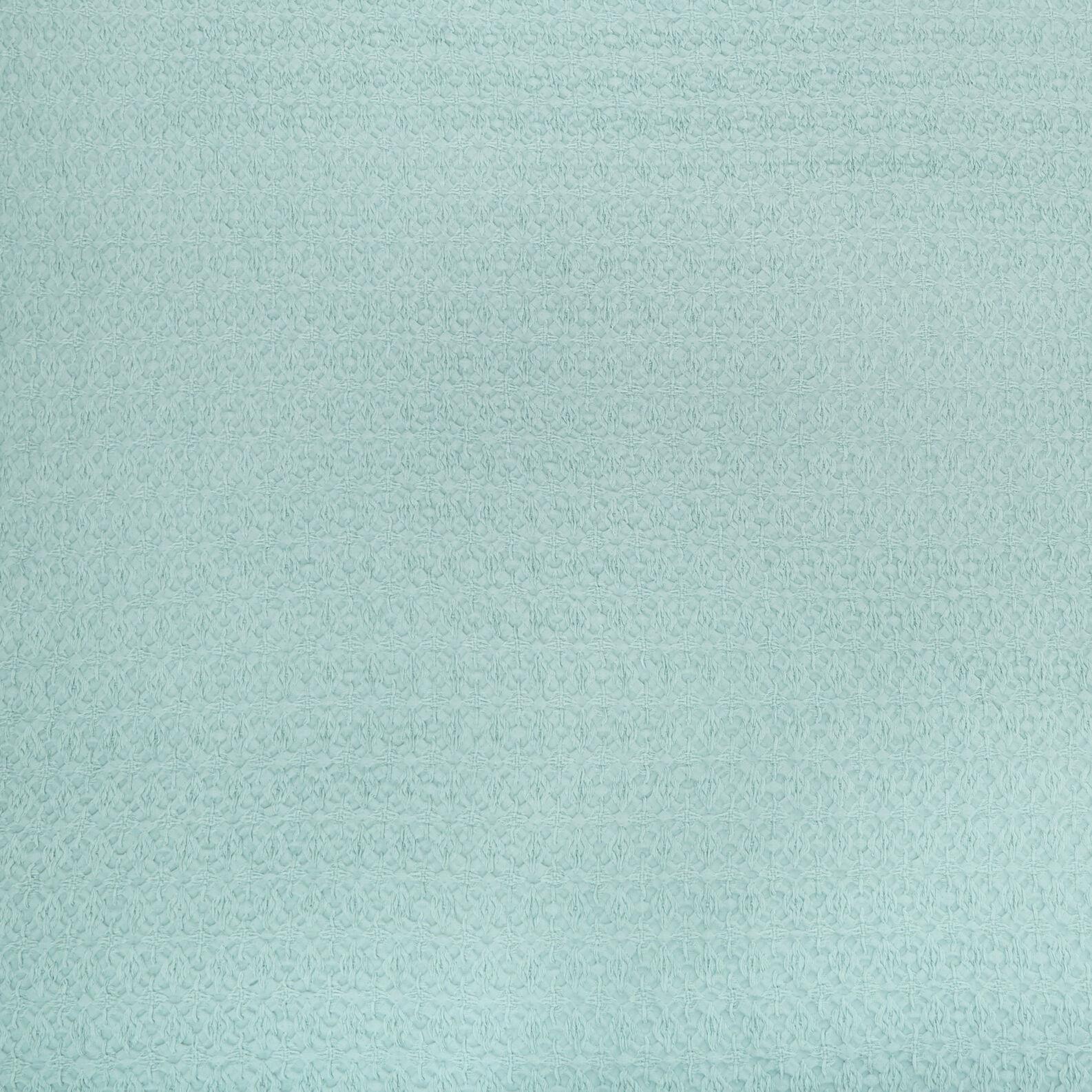 Embossed 100% cotton plaid