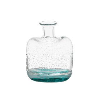 Vaso vetro colorato in pasta effetto bubble