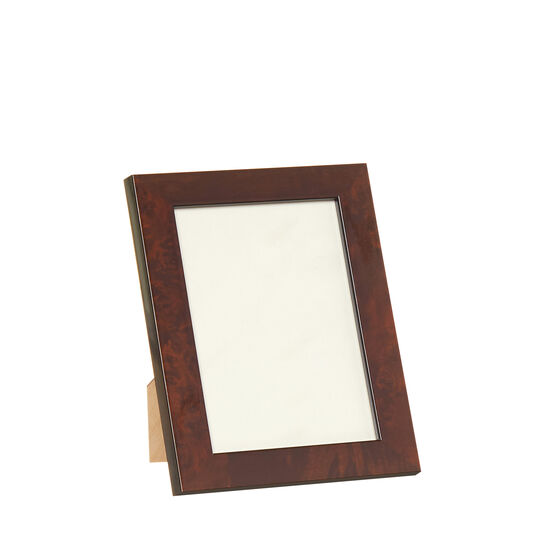 Photo frame in elm briar root