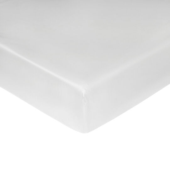 Portofino cotton percale fitted sheet