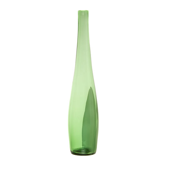 Vaso bottiglia in vetro colorato