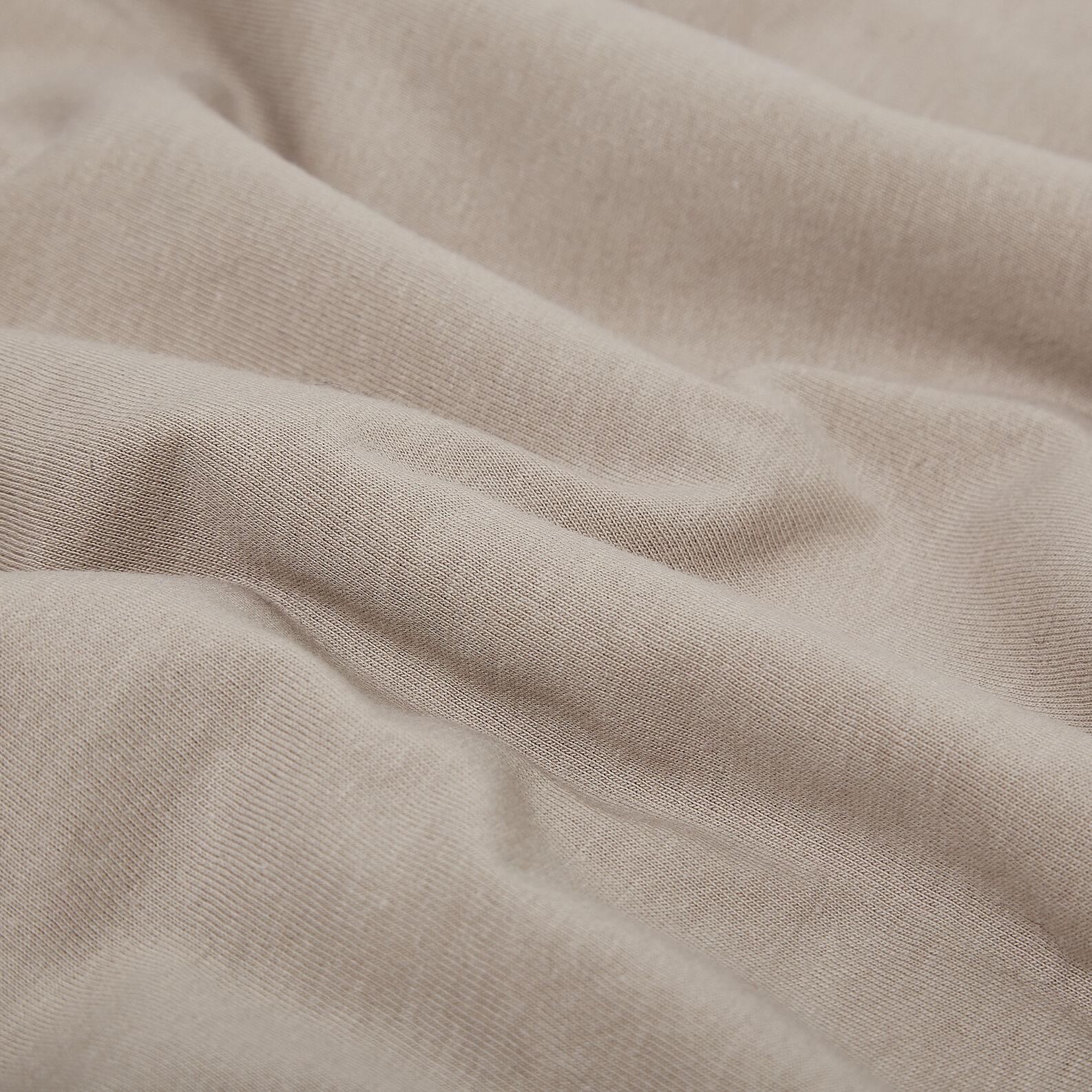 Cotton jersey duvet cover set