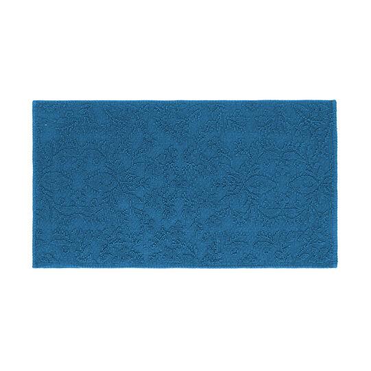 Tappeto bagno cotone motivi a rilievo