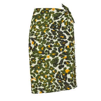 Koan 100% cotton sarong with animal print