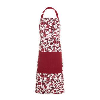 100% cotton bib apron with floral print