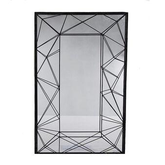 Mirror with iron frame