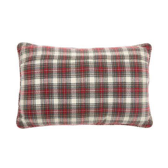Cuscino cotone tartan 35x55cm