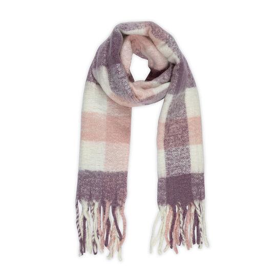 Koan check scarf