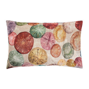 Pillow case in 100% cotton percale with Christmas pattern