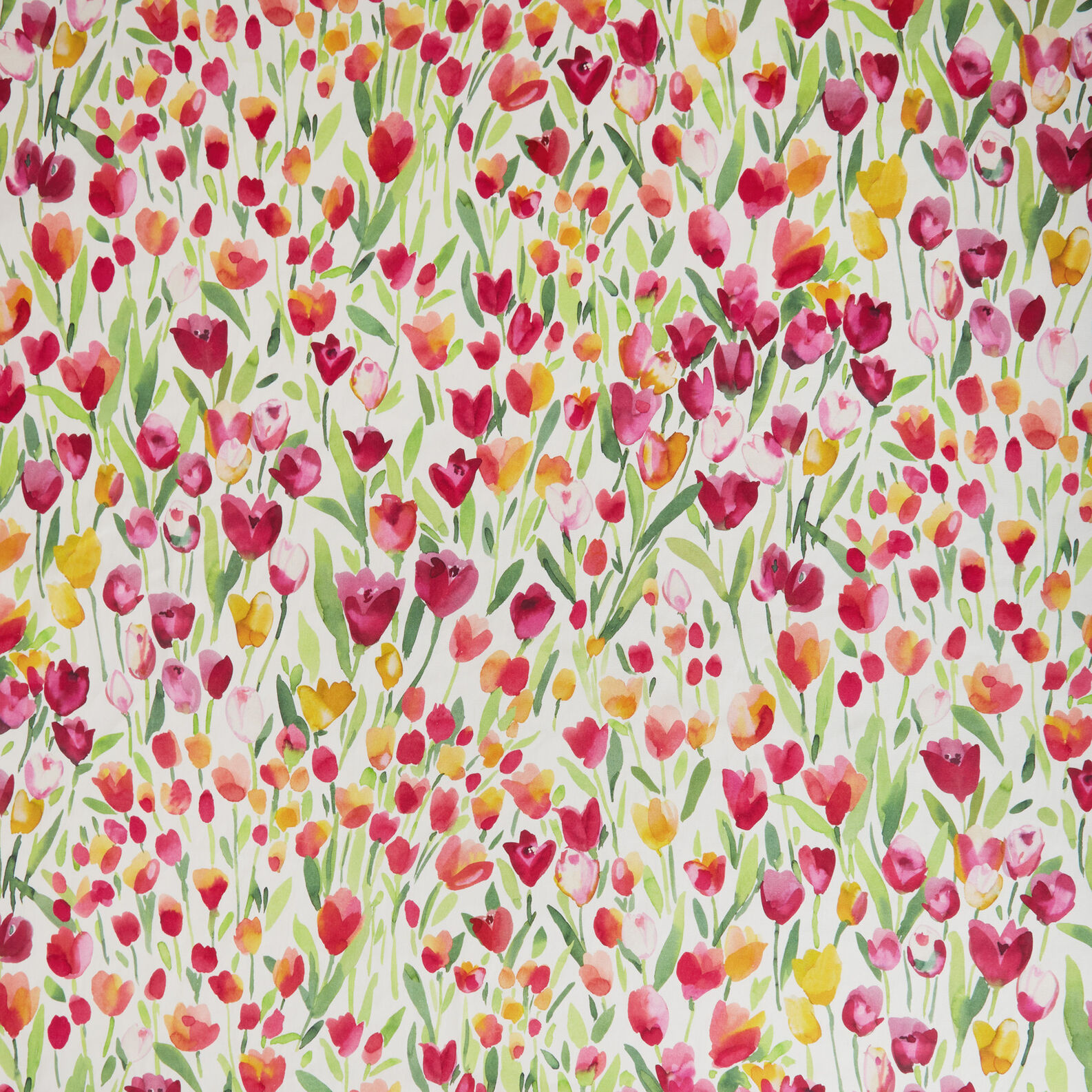 100% cotton tablecloth with tulips print