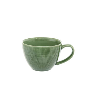 Solid colour ceramic breakfast cup