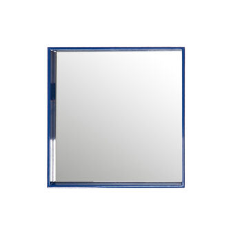 Polished lacquered square mirror