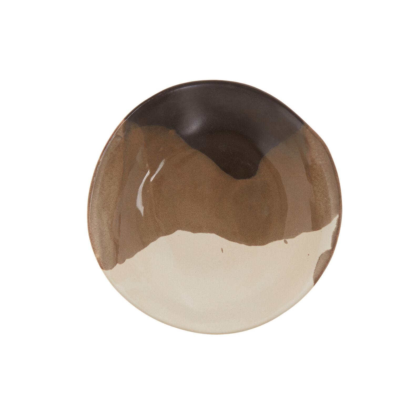 Terra ceramic soup bowl