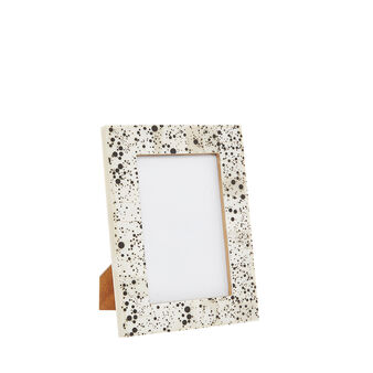 Handmade bone photo frame