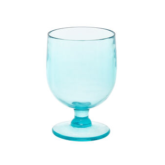 Coloured plastic goblet