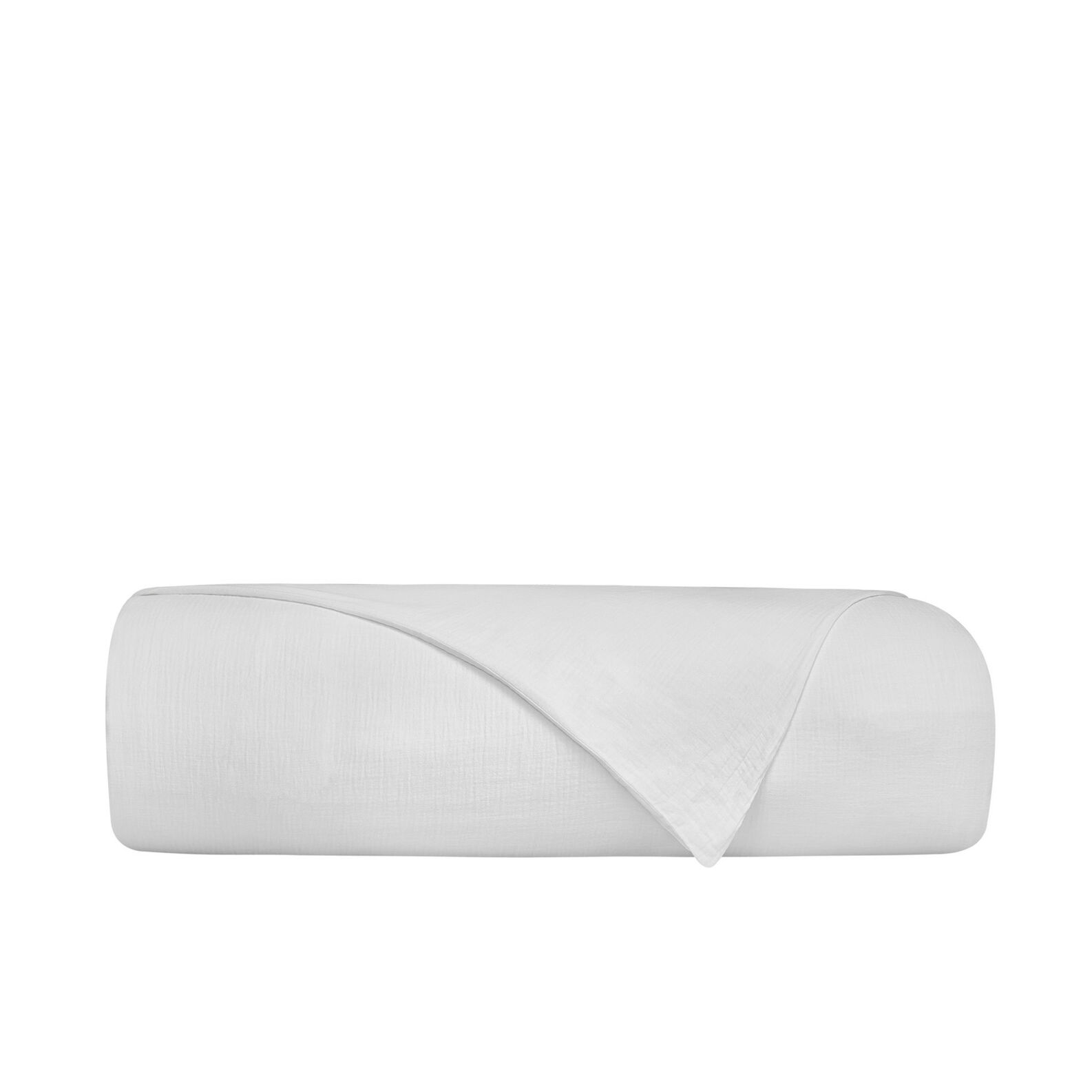 Solid colour cotton gauze duvet cover