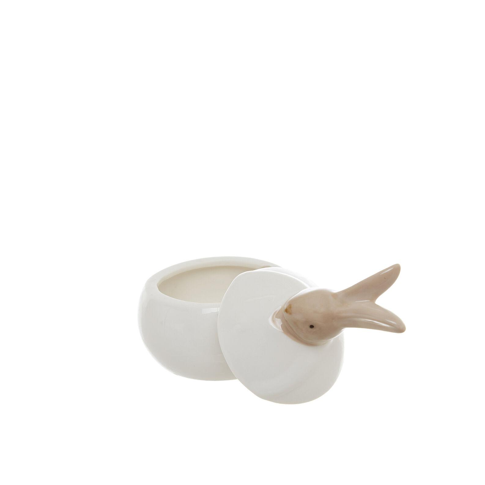 Barattolo porcellana a coniglietto