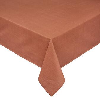 Solid colour 100% slub cotton tablecloth