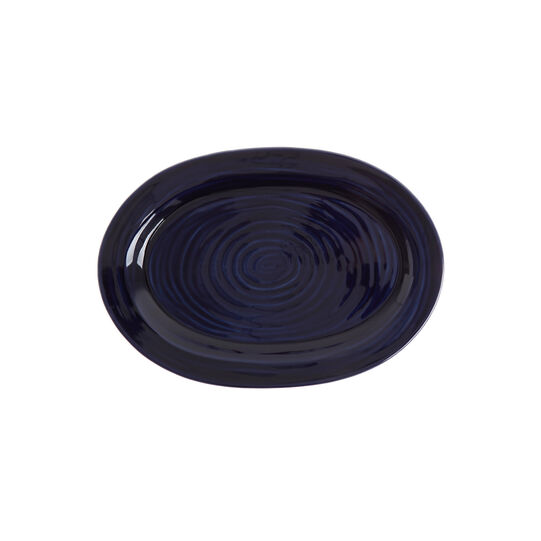 Astrid ceramic serving plate