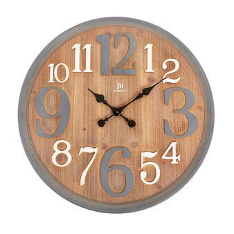 Maxi orologio da muro legno effetto anticato