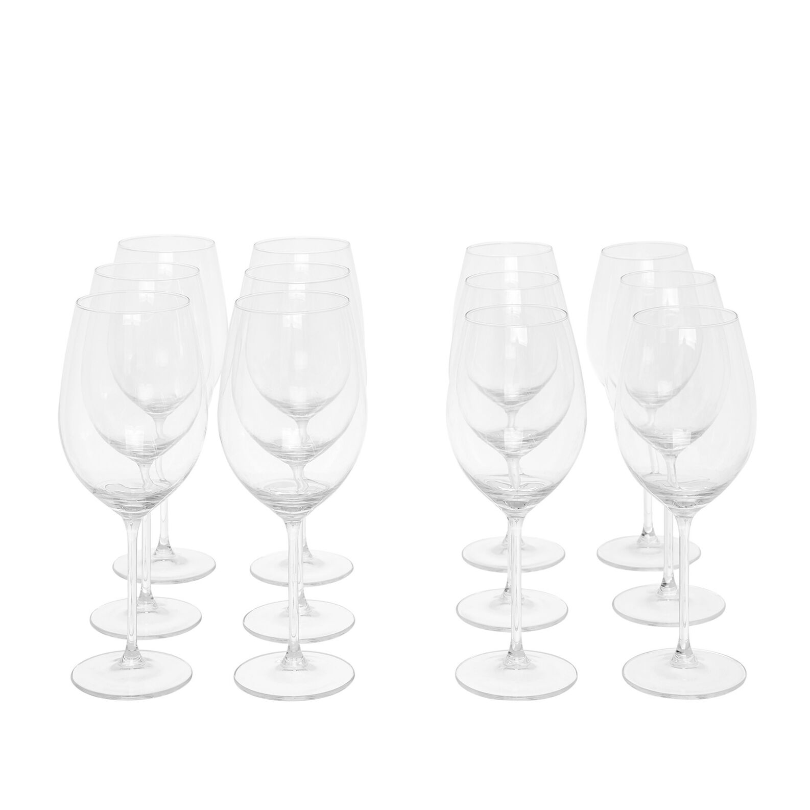 Set of 12 goblets in Royal glass