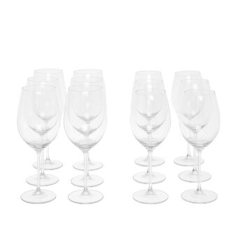 Set of 12 goblets in Royal glass
