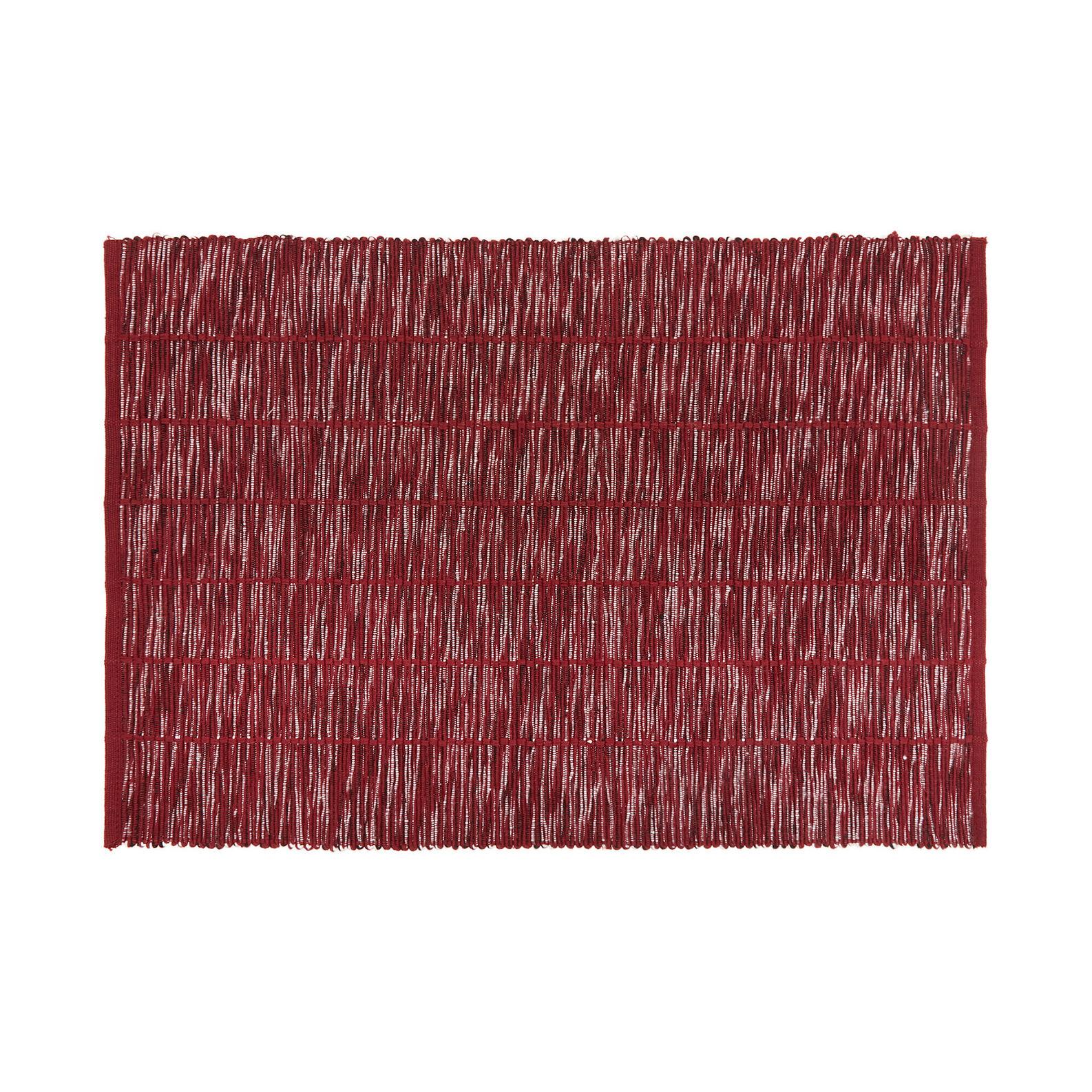 Table mat in 100% cotton mélange