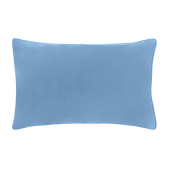 Set of 2 solid colour pillowcases in 100% cotton