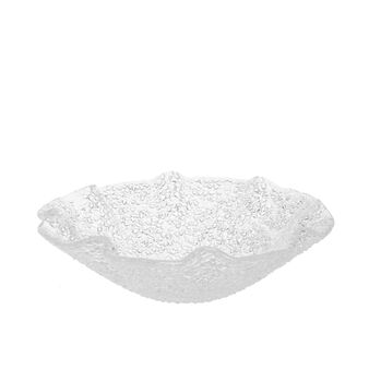 Lvv scalloped glass bowl