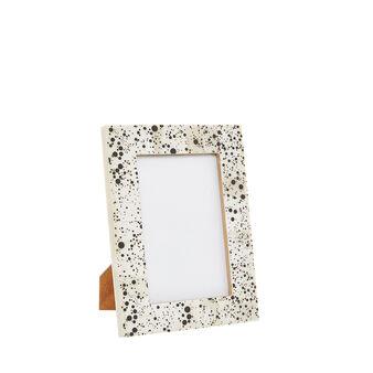Handmade bone photo frame
