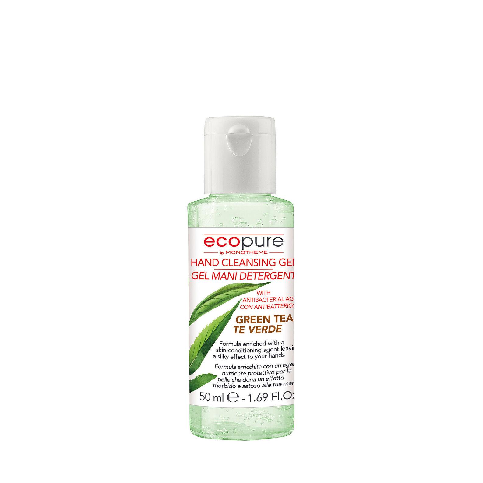 Green tea hand gel Ecopure by Monotheme 50ml
