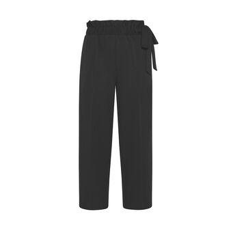 Pantalone ampio tessuto crêpe Koan