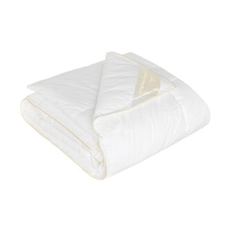 Duvet with microsphere padding