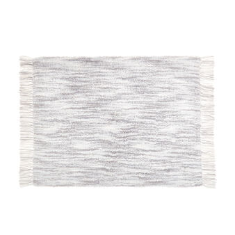 100% cotton faded bath mat