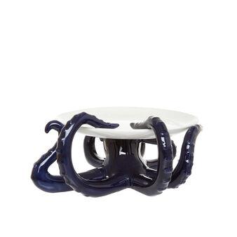 Alzata ceramica dettaglio tentacoli