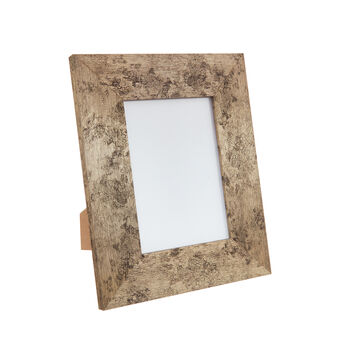 Cosmic metal-effect photo frame