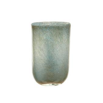 Vaso artigianale vetro colorato in pasta