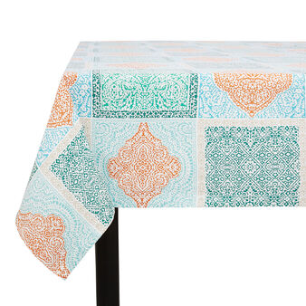 100% cotton tablecloth with Morocco print