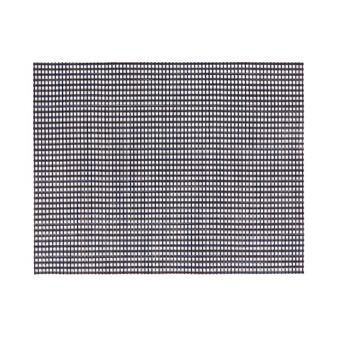 Rectangular mesh table mat