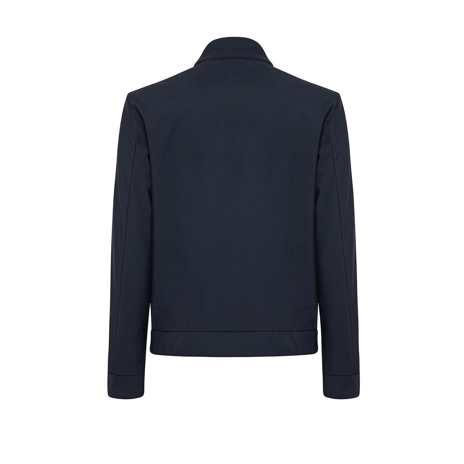 High collar jacket with zip