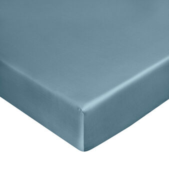 Zefiro fitted sheet in 100% cotton satin