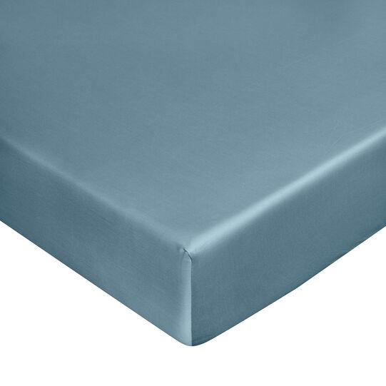 Zefiro fitted sheet in 100% cotton satin