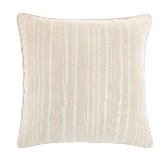 Striped pure cotton cushion