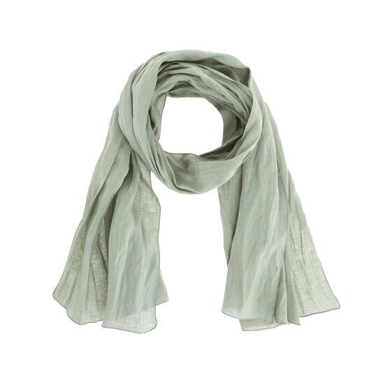 Solid colour 100% linen scarf.