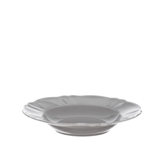 Romantic glazed china bowl.