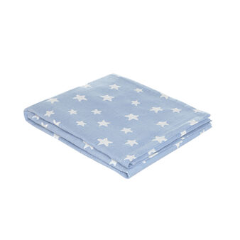 100% cotton bedspread with stars