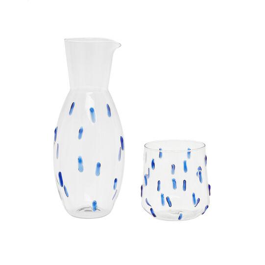 Borosilicate glass carafe